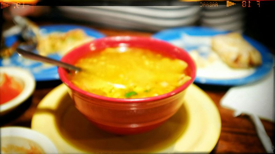 Classic Tortilla Soup-Food Network: http://youtu.be/RtnpbYw7oQQ Eating Hola! A Day In The Life Delicioso Dinner