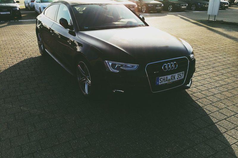 Car Audi Good Morning Morning Sun