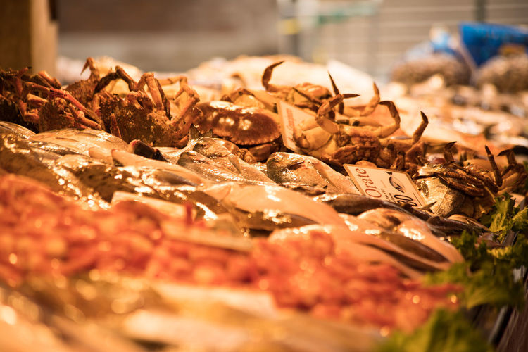 Choice Fish Market Food Food Photography Fresh Crabs Market Seafood Selective Focus Travel Destinations Travel Photography