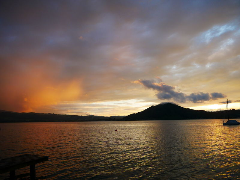 Attersee Austria Landscape_Collection Mountains In Sunset Seascape Photography Sunset_collection Beauty In Nature Cloud - Sky Lake Lake View Lakescape Landscape_photography Mountain Nature No People Scenics See Silhouette Sunsets Tranquil Scene Tranquility Water Österreich Be. Ready.