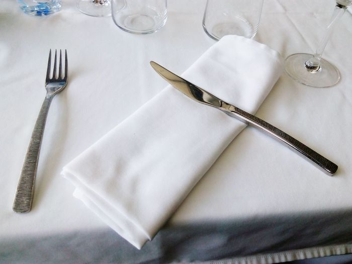 "Original ""Mise en Place"". EyeEm Selects Fork Table Close-up"