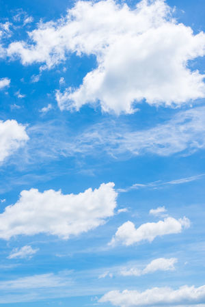 blue sky with white fluffy clouds Backgrounds Beauty In Nature Cloud Cloud - Sky Cloudporn Clouds Clouds And Sky Cloudscape Cloudscape Fluffy Clouds Idyllic Nature Sky Sky Only