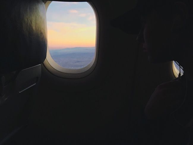 Airplane Journey Travel Window Flying Airplane Seat Sunset Airplane Wing Iphone6 Phoenix, AZ USAtrip Let's Go Together Let's Go. Together.