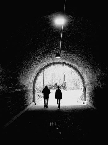 ❤ NYC Family❤ Park The Traveler - 2018 EyeEm Awards Child Togetherness Boys Standing Silhouette Archway