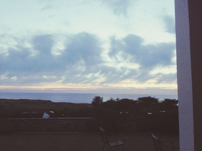 View from my grandparents' back porch :) Love visiting Escaping