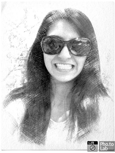 Just Smile  Glasses Self Portrait Blackandwhite Happiness With Teeth