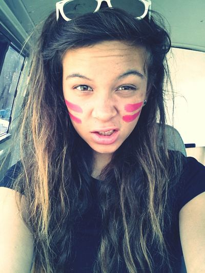 Cheeky little selfie before I went jet skiing with my boy :* Jetski Armygirl Rawr! Brunette