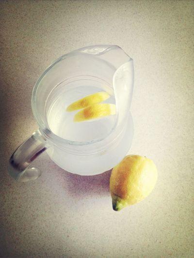 Morning Ritual: Lemon & Water Taking Photos
