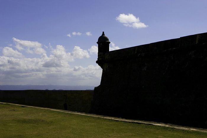 El Morro El Morro Puerto Rico San Juan Silhouette Sky Discover Puerto Rico Castle