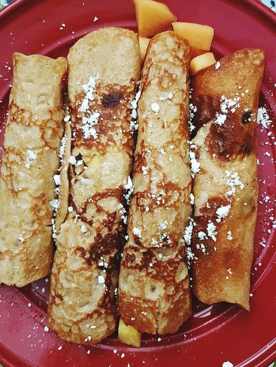 Ready-to-eat Close-up CRÊPES❤ Crepas Crepe Time Crepes! ^_^ Breakfast Time Brekfast  Breakfast Club Breakfast Food