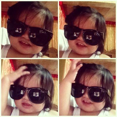 @jiih_benito hahaha! Instapicframes Baby Asian  Cute shades aye aye aye
