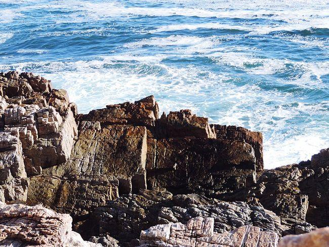 Natures Building Blocks - Rocks Sea Wet Rocks Nature Shore Ocean Surf Blue Sea Waters Edge