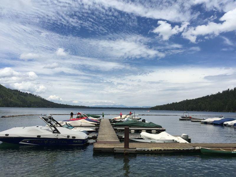 The original unprocessed photo taken at Fallen Leaf Lake in July 2015. California
