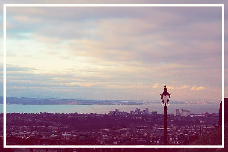 Skyline from Edinburgh Castle Sky Cloud - Sky Nature Beauty In Nature No People Outdoors Scenics Tranquil Scene Day Architecture First Eyeem Photo