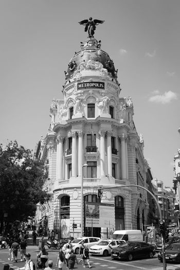 Architecture City City Life Cityscape Madrid SPAIN Sigma Sunny Travel Travel Photography Urban Geometry Architecture Building Building Exterior Built Structure Canon Canonphotography City Crossing Day Europe Metropolis Sigma 35mm Art Sky Travel Destinations