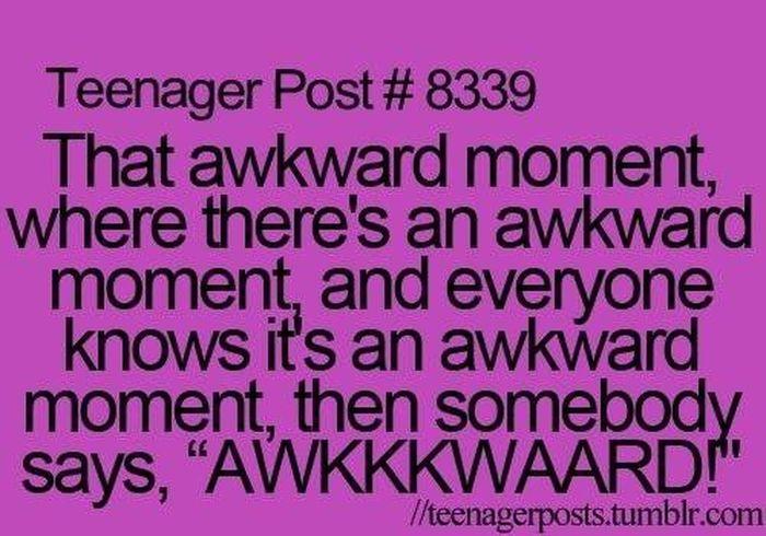 Teenager Post Awkward Text ♥