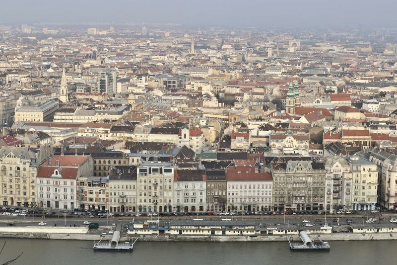 Budapest, Hungary Danube River Eastern Europe City View  Cityscape Eastern Culture Historical Sights Sightseeing Tourist Destination