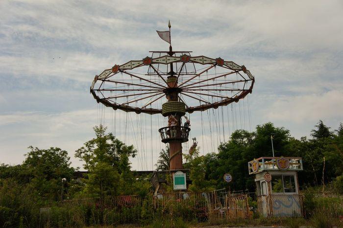 Ruins/amusement park🏰🎡 廃墟 Ruins Japan Abandon Plant 植物 緑 Dark Urbex