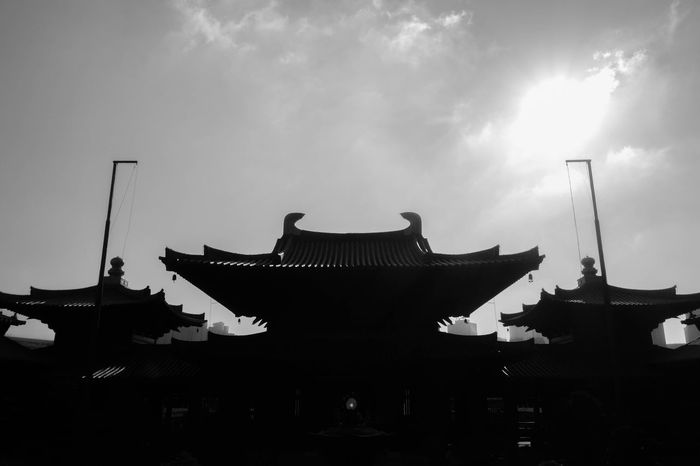 Chi Lin Nunnery, Diamond Hill, Hong Kong Architecture Buddha Buddhism Buddhist Chi Lin Nunnery Chinese Hong Kong Landscape Monastery Nunnery Panoramic Silhouette Sky Temple The Architect - 2016 EyeEm Awards
