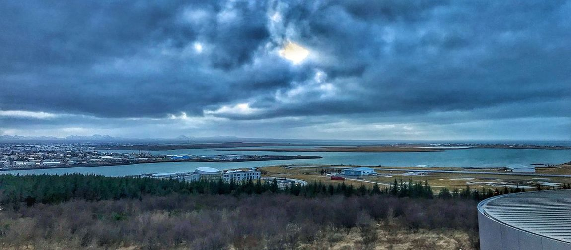 Reykjavik Water Sky Tranquility Nature Tranquil Scene Horizon Over Water Outdoors Scenics Sea
