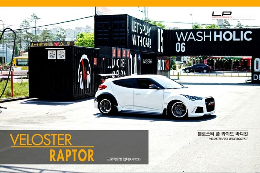 Veloster Kdm Raptor Hyundai Veloster Turbo 나만의 차를 완성하는 곳_로드파워디자인 Full Body Kit LORDPOWER DESIGN Tuned Veloster Veloster Raptor Veloster Bodykit