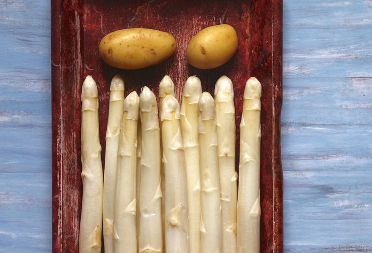 Spargel,Germany Essen Feinschmecker Gemüse Kochen Küche Spargelzeit Close-up Food Gesund Gesunde Ernährung Indoors  Spargel Still Life