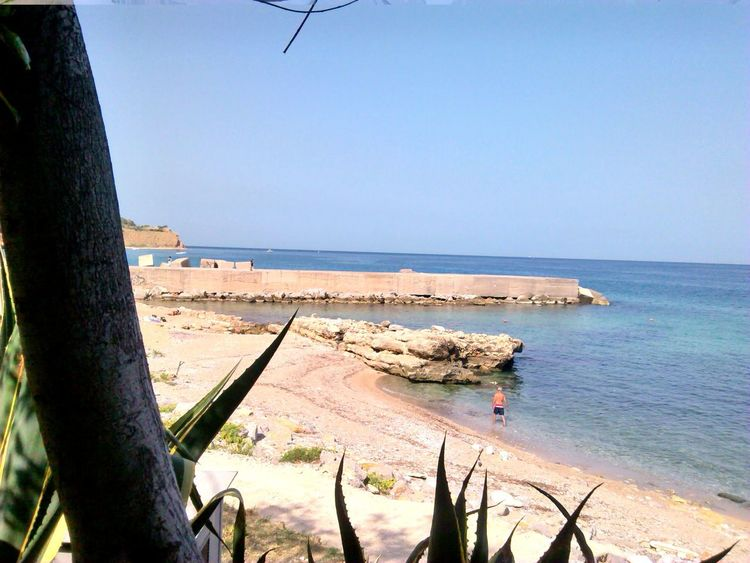 Beach Beauty In Nature Clear Sky Horizon Over Water No People Palermo Shooting Palermo, Italy Sea