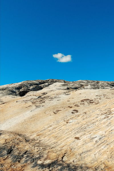 one cloud on blue sky Sky Sky And Clouds Sky_collection Sky_collection Cloud Clouds And Sky Cloud And Sky Rock Rocks Rocks And Sky Hvaler  Hvaler Norway Norway
