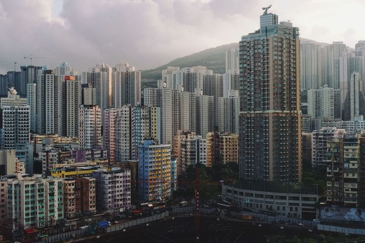 Skyscraper Architecture Cityscape City Building Exterior Sky Modern Built Structure No People Tall Outdoors Day Tim Wong Hong Kong Sony