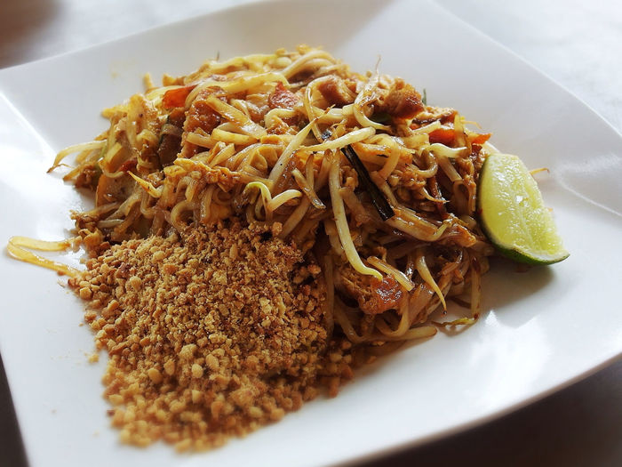 Pasta with lime and barley