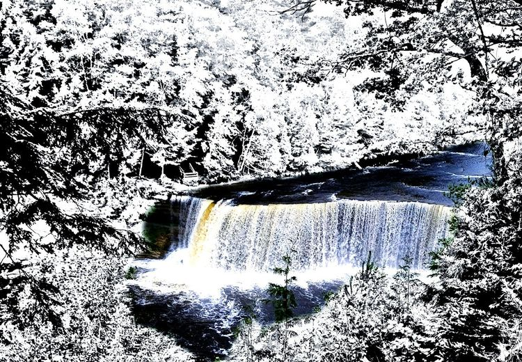 Toolwizphotos Waterfall #water #landscape #nature #beautiful Tahqamenon Falls State Park Tahqamenon Falls Upper Peninsula
