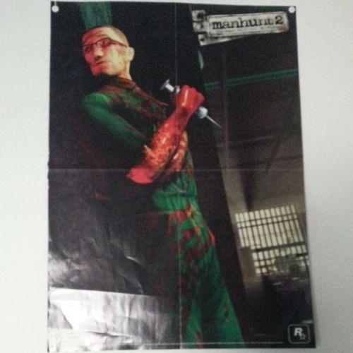 Manhunt 2 poster :-) ManHunt Rockstargames GTA GTAIV gta5 gtav follow instagram instalike like love gore