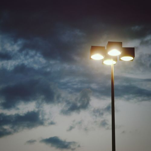 Another Light In The Darkest Night Scenery Sunset Sky_collection Streetlamp Streetphotography Streetlandscape
