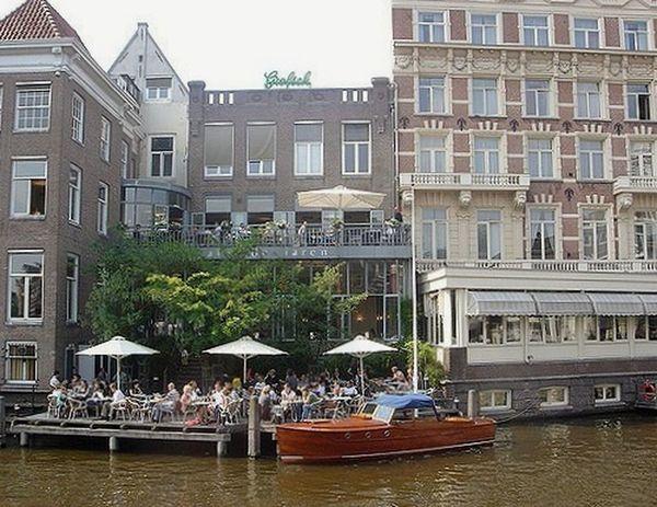 Amesterdam Amesterdao Amesterdamboat Amesterdamcanal Amsterdam Canal Canalboat Holland Boat Cafe Time Relaxing