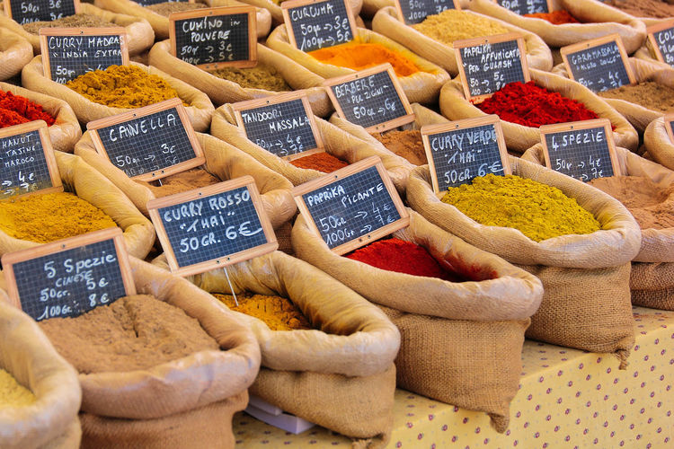Spices... Abundance Choice Colors Food For Sale Full Frame Market PhotoFeliceSo Repetition Shop Small Business Spices Spicesworld Store Variation EyeEmPaid