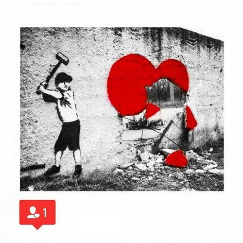 Love Heart Red Black White Graffiti Tavapassando Observei FOTOGRAFEI Registrei Sampa Essepê Coração Branco Preto Vermelho Amor Artenarua