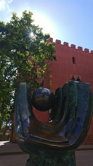 Beisball sculpture Beisball Structure Sculpture Architecture Outdoors The Architect - 2017 EyeEm Awards City Sky