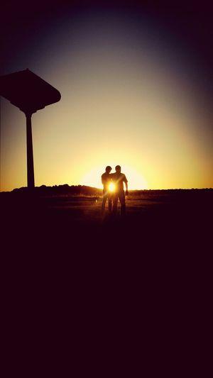 Goodyear Sillouette Sunset Oklahoma