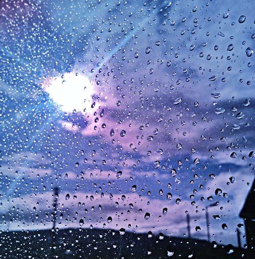 Bi-polar Ireland My Bipolar World Sky Rain Drops Sun