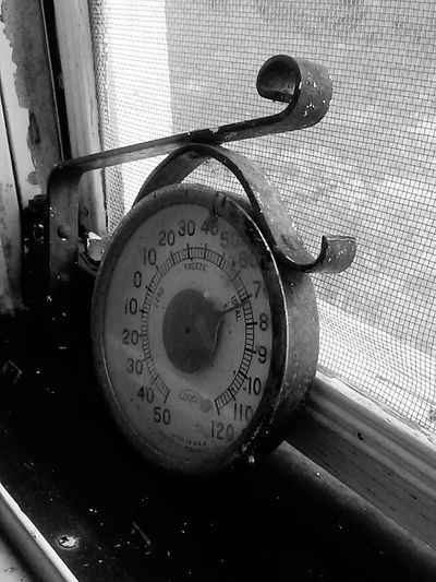 Thermometer Black And White 70 Degrees