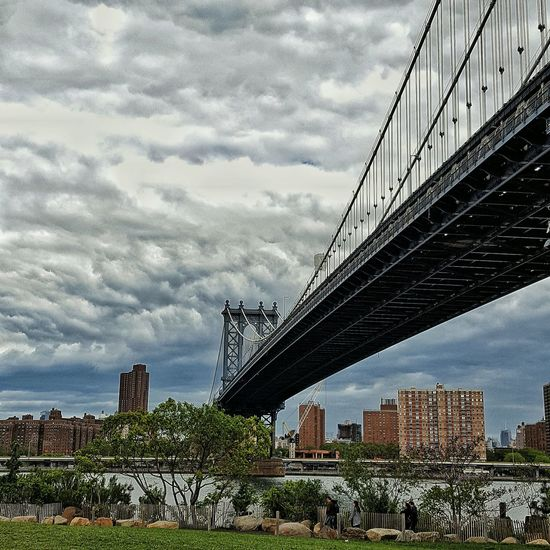 Manhattan Bridge from Brooklyn. Hanging Out NYC EyeEm City Urban Beauty In Nature Urban Lifestyle NYC Street Photography Bridge Sky And Clouds Taking Photos City Life EyeEm Gallery EyeEm Nature Lover NYC Photography Eye4photography  NYC Skyline City View  Shootermag Cityscape Sky_collection Urban Landscape Urbanphotography EyeEm Best Shots Enjoying Life