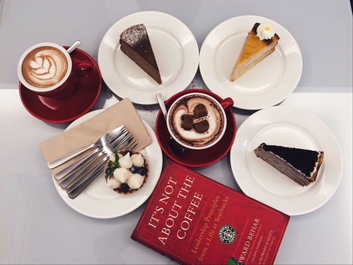 Better Together Coffee With Cakes during Teatime Mocha Relaxing