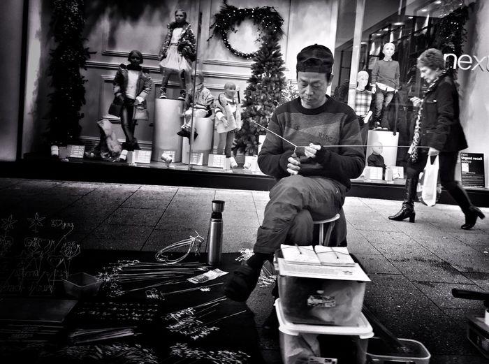 Blackandwhite Streetphotography Shootermag People at work series The Street Photographer - 2015 EyeEm Awards
