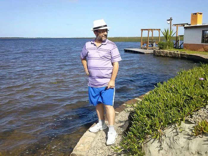 Praia da Lagoa - Plaĝo de la laketo en Cidreira/RS Brasil Lagoas Praias Lakoj Nature