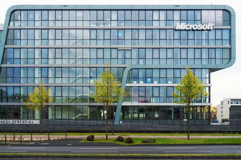 Microsoft Architecture Building Exterior Built Structure Window Outdoors Business Cologne Köln