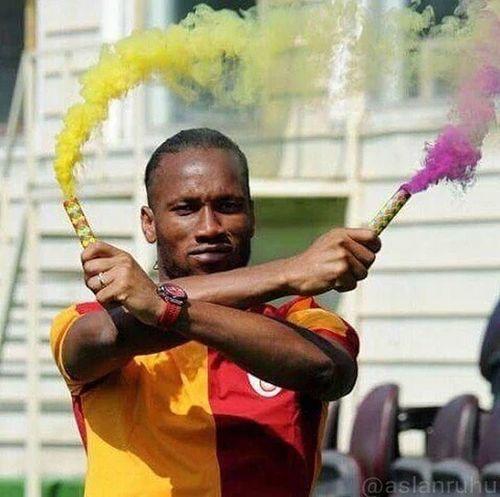 Drogba Galatasaray Cimbom 💛❤️