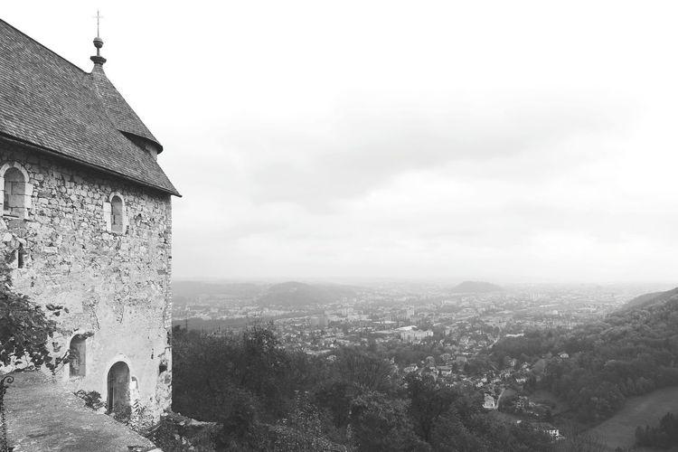 Bw Ruins Graz Castle