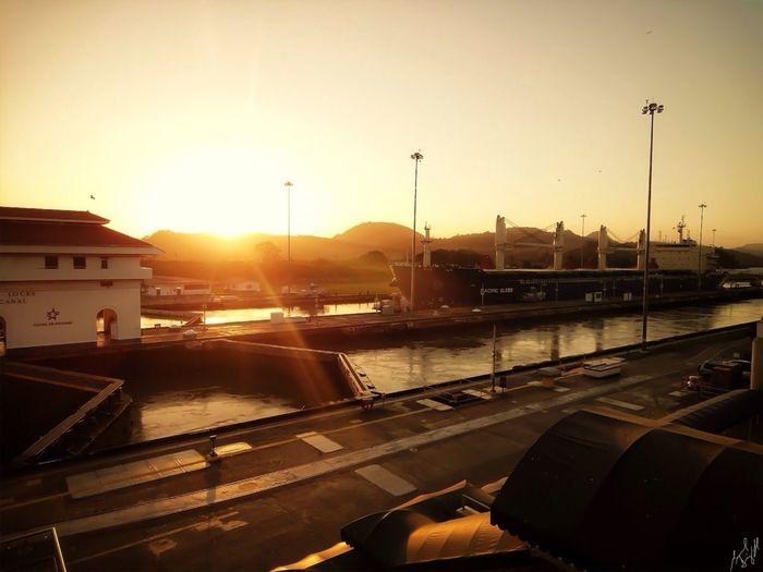 Panamá Shootermag Canal De Panama  Sun_collection