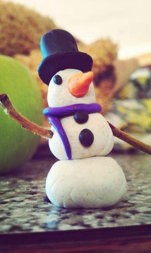 Summer snowman!
