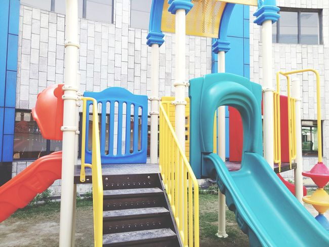 EyeEm Selects No People Day Playground Equipment Playground Slide Close-up Outdoors Childhood Outdoor Play Equipment Playground Multi Colored